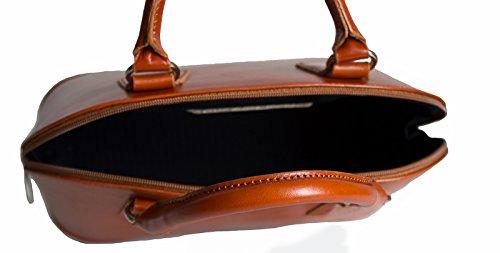 G&G PELLETTERIA , Sac pour femme à porter à l'épaule cognac