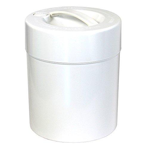 Tightpac America, Inc. kilovac-8Oz bis 2,5Lbs luftdicht Multi Vakuum Seal tragbarer Container für trockene Waren, Lebensmittel, und Kräuter weiß - Vakuum-container