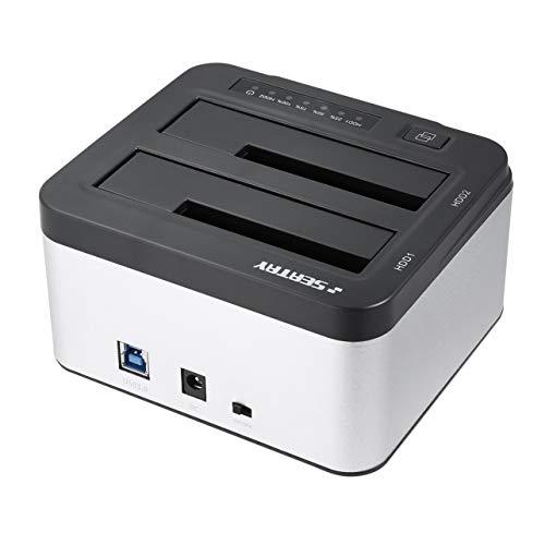 WOSOSYEYO SEATAY USB 3.0 SATA HDD Gehäuse Fall Hard Drive Disk-HDD-Dockingstation