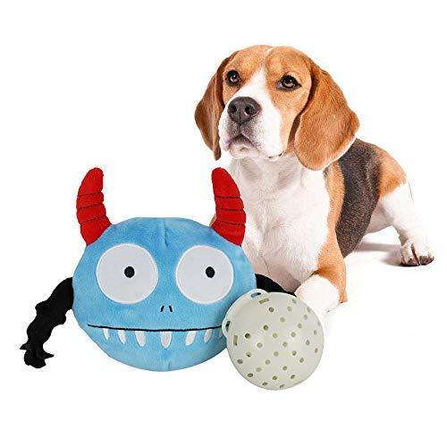 NIBESSER Haustier Hund Hundespielzeug Ball Kartoon Inte… | 08431239455194