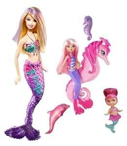 Mattel barbie sirene et ses amis jeux et jouets - Jeux de princesse barbie sirene ...