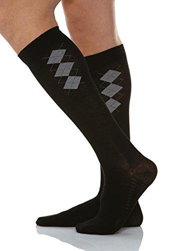 relaxsan-820b-negro-tg5-calcetines-de-algodon-para-hombres-con-plantilla-masajeadora-y-compresion-gr