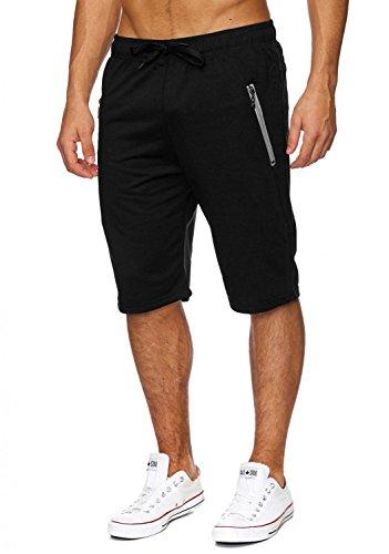 Herren Sweat-Shorts · (Comfort Fit) kurze Sport Jogging Pant - Sweat Bermuda mit Tunnelzug für den Sommer · H1830 von Max Men (Comfort Kurzer Fit)