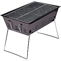 AREDOVL Parrilla Plegable portátil para Acampar Engrosamiento carbón Estufa de Barbacoa Estufa para Acampar de Acero