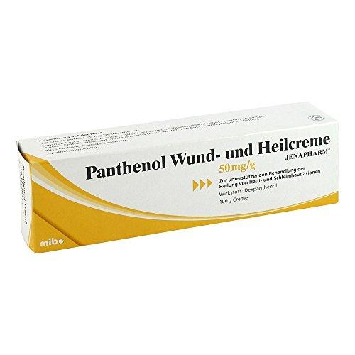 Panthenol Wund- und Heilcreme, 100 g