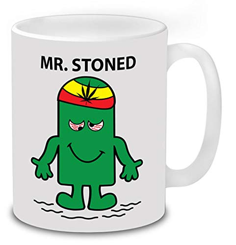 Mr Stoned Novelty Funny Mugs Can...