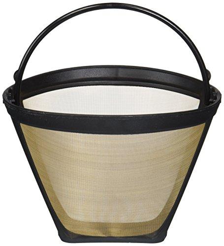 Washable & Reusable Coffee Filter # 4 Cone Fits Black & Decker, Braun, Cuisinart, GE, Hamilton Beach, Jerdon, Krups, Melitta, Mr. Coffee, Mr. Coffee Concepts, Norelco, Proctor Silex, Regal, Sunbeam & West Bend, Designed & Engineered by Crucial Coffee