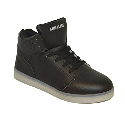 Generic , Sneakers Basses mixte adulte Noir