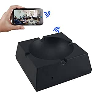M MHB HD Wifi 1080 Ashtray Recording Done From Anywhere Around The World On Any Android Phone Video/Audio Recorder Spy Camera
