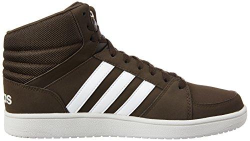 adidas Vs Hoops Mid, Chaussures de Sport Homme Marron - Marrón (Marosc / Ftwbla / Griper)
