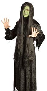 Humatt Perkins 56837 - Peluca de disfraz (bruja)