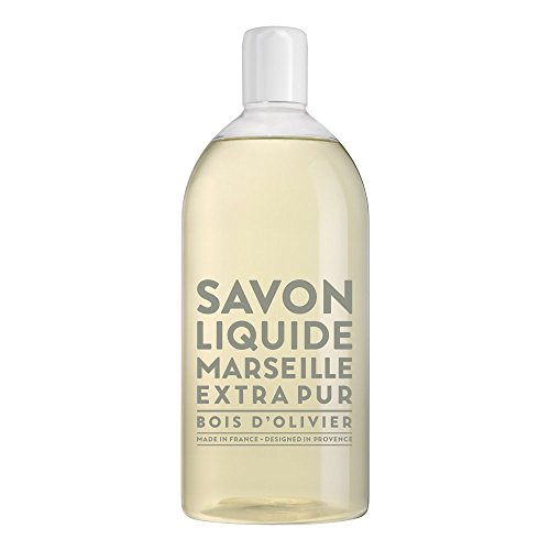 Compagnie de Provence Serie 'Extra Pur' - Flüssigseife Olive (Bois d'Olivier) 1 Liter Nachfüllflasche