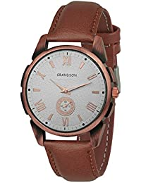 Grandson Brown Multi Dail Casual Analog Watch For Boys And Men