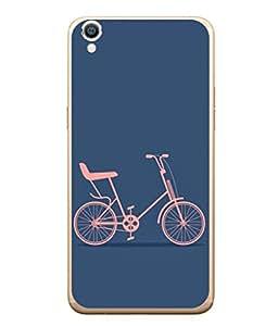 Snapdilla Designer Back Case Cover for Oppo F1 Plus :: Oppo R9 (Wallpaper Sport Road Wheel Pathway Pedal)
