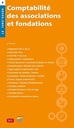 Comptabilité des associations et fondations - 3e éd.