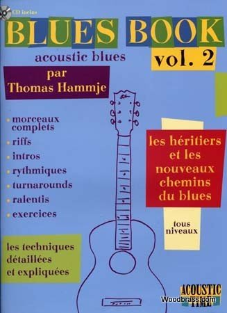 Blues Book Acoustic, volume 2 : Les hritiers
