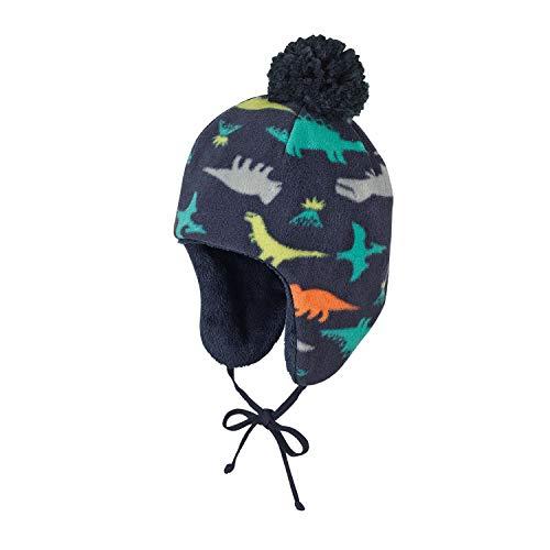 Sterntaler Jungen Inka-Mütze, Blau (Marine 300), 53