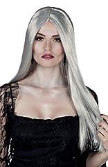 Idea Regalo - Boland Parrucca Lunga Strega Bewitched per Adulti, Grigio, Taglia Unica 86082