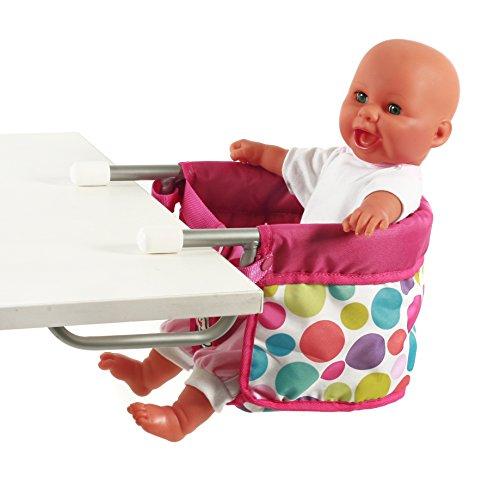 Preisvergleich Produktbild Bayer Chic 2000 735 17 - Puppentischsitz, pinky Bubbles