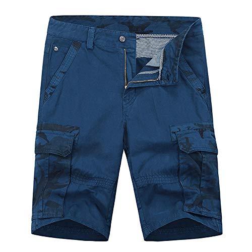 Jugend 6-pocket Pant (Aiserkly Herren Camouflage Multi-Pocket Cargo Short Arbeitshose Kurze Lockere Bequeme Stoffhose Hosen)