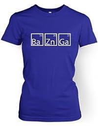 BaZnGa Männer T-Shirt Damen T-Shirt