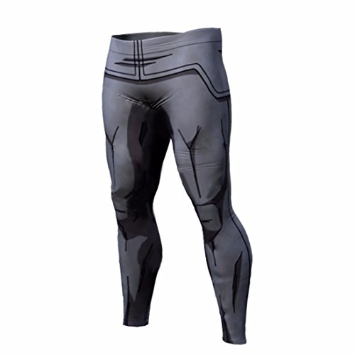 Men's 3D Dragon Ball Z Printed Trousers Black