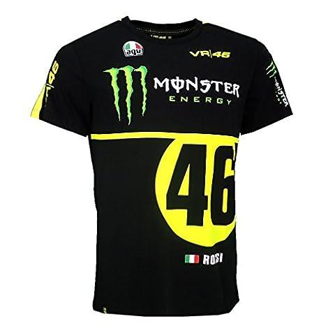 Valentino Rossi VR46 Moto GP Monza Rally Replica T-shirt officiel 2016