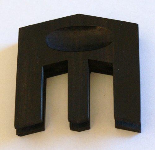 GEWA HILL Dreizack Dämpfer für Cello -- Modell aus Ebenholz für den Standardgebrauch