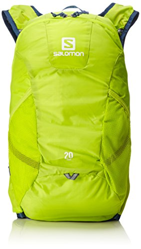 Salomon, Trail Running Rucksack (20 L), 48 x 24 x 15 cm, 382g, TRAIL 20, Grün, L39329900 (Trail-running-mini)