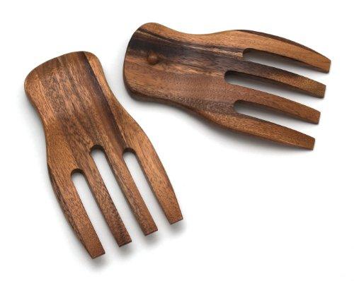 Lipper International Lipper International Salad Hands, Acacia