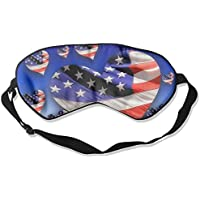 Sleep Eye Mask American Flag Heart Lightweight Soft Blindfold Adjustable Head Strap Eyeshade Travel Eyepatch E18 preisvergleich bei billige-tabletten.eu