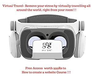 My VR Google DayDream Lookalike Dream VR Headset with Sound and 120 Degree FOV
