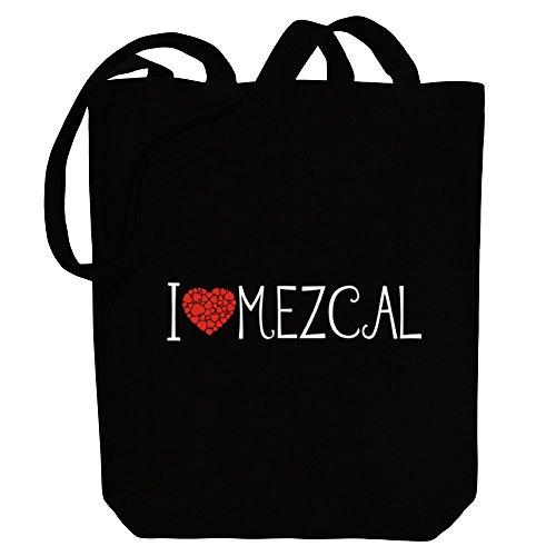 Idakoos I love Mezcal cool style - Getränke - Bereich für Taschen