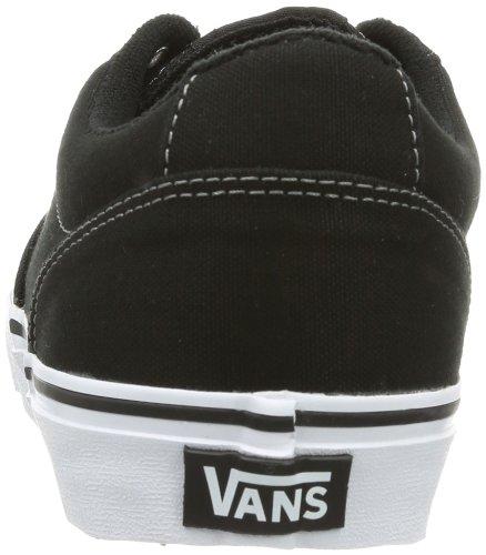 Vans CANVAS Canvas Sneaker BLK WHT uomo WINSTON M Nero rFxwqr1
