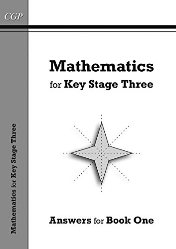 Mathematics for KS3, Answers for Book 1