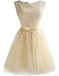on sale 1c6a2 c529a abiti da cerimonia - Giallo / Vestiti / Donna ... - Amazon.it