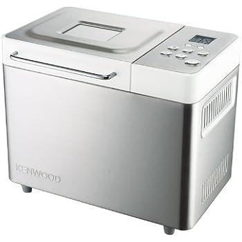 Kenwood BM350 Machine à pain inox brossé/blanc