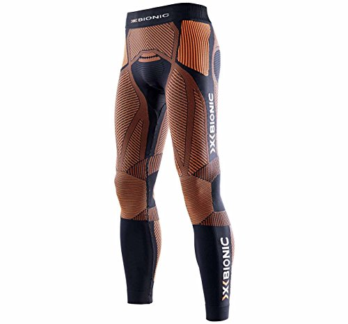 X-Bionic Erwachsene Funktionsbekleidung Running Man The Trick OW Pants Long, Black/Orange, L
