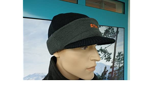 ce20391794c Stihl Stihl Snowboarder Winter Beanie Hat with Embroidered Logo   Amazon.co.uk  Garden   Outdoors