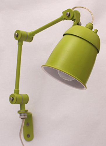 playn contemporary leaf green wall lamp (how mini series)