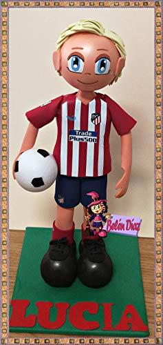 Muñeco fofuchas Atlético de Madrid GRIEZMANN 27 cms. fútbol liga