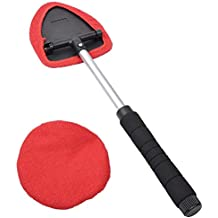 Cepillo limpiador de ventana limpia parabrisas de coches 28-47cm extensible longitud de tela de