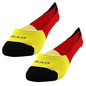 sourcing map Paar R-BAO Erwachsene Mountainbike Tief geschnitten Sport Radfahren Socken weiß