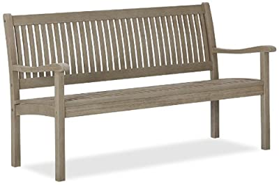 Strathwood Basics Gartenbank aus wetterfestem Hartholz 3-Sitzer