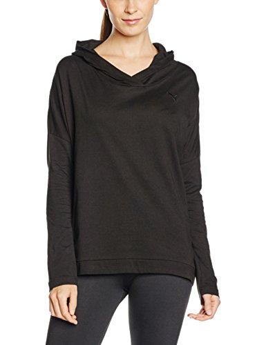 Puma T-Shirt à capuche Femme Noir