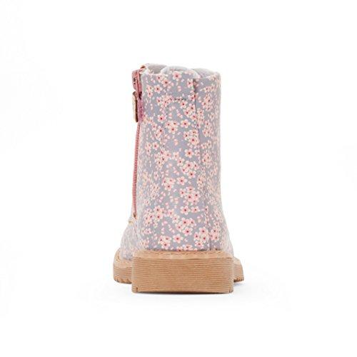 R Edition Mdchen Boots, Mit Blumenmuster Bedruckt Motiv Blumen