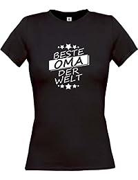 Shirtinstyle Lady-Shirt Beste Oma der Welt