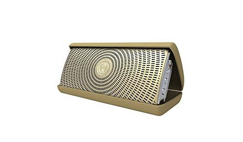 InnoDevice FL300050 InnoFlask 2.0 Bluetooth Designer Lautsprecher mit Mikrofon Funktion Gold