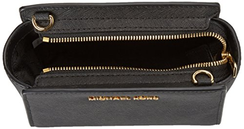 MICHAEL by Michael Kors Selma Mini Admiral Borsa a Tracolla Nero(Black 001)