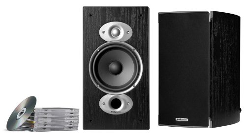Polk Audio RTi A3 Regal-Lautsprecher (Paar) schwarz